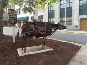 The Cow by Jonathan Bowling of Greenville, NC